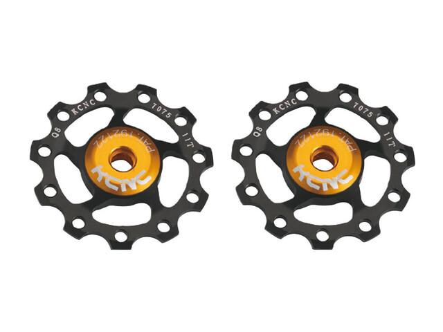 KCNC Jockey Wheel Ultra SS Bearing 11 tænder par sort